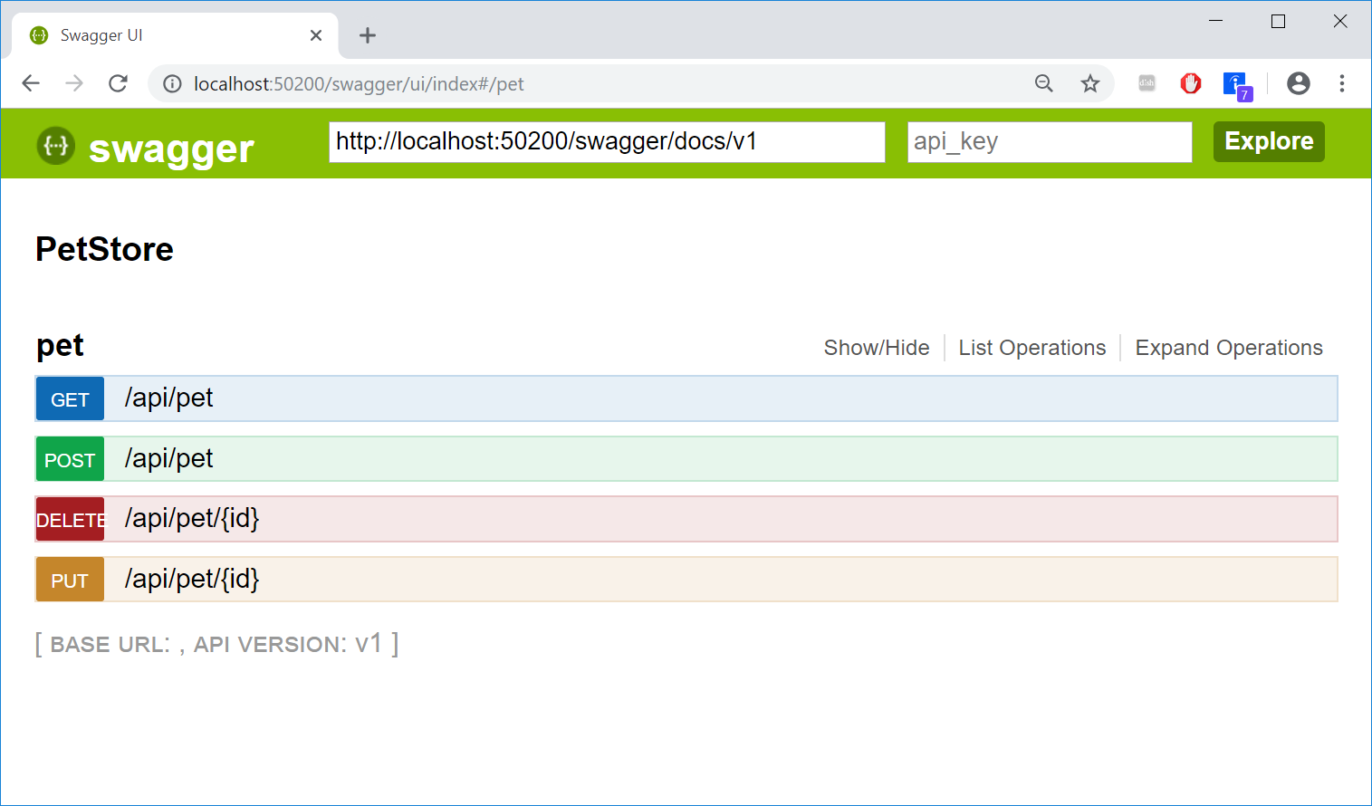 Embed Swagger UI into Existing  NET APIs
